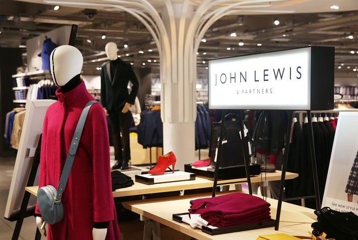 John Lewis sales fell by 2.4% last week