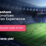 Dynamic Yield Tottenham football fan experience case study
