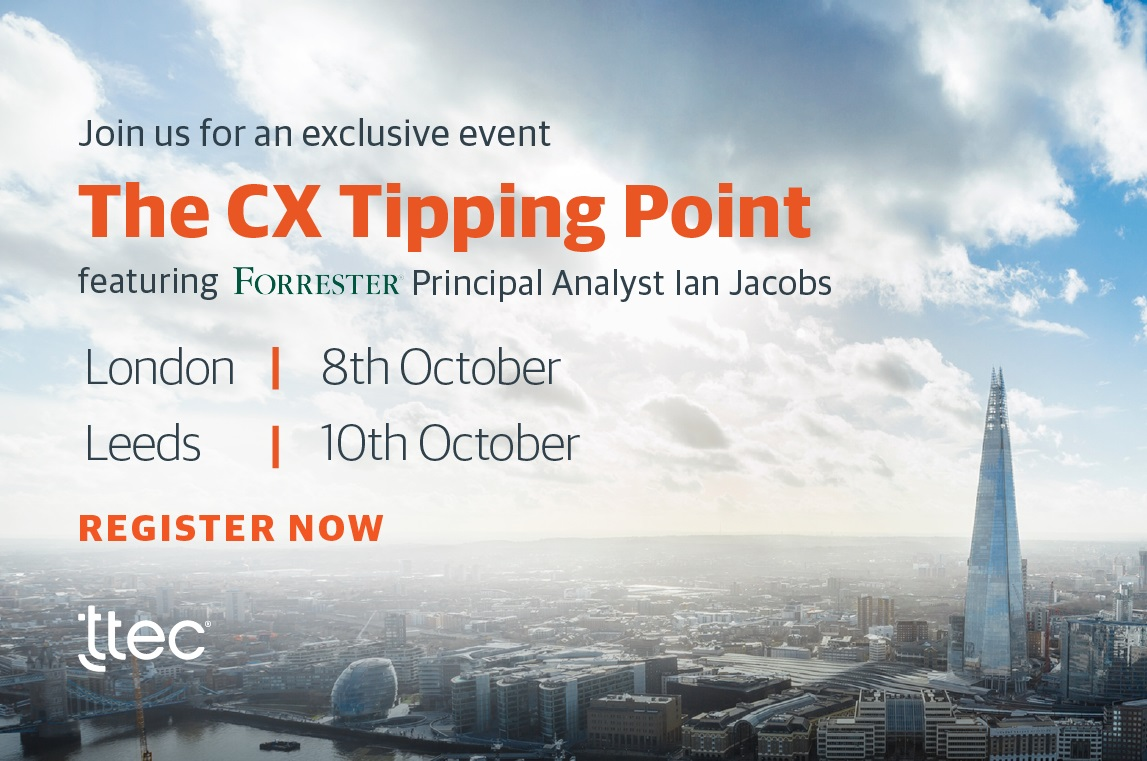 Event – CX Tipping Point – London | 8th October 2019