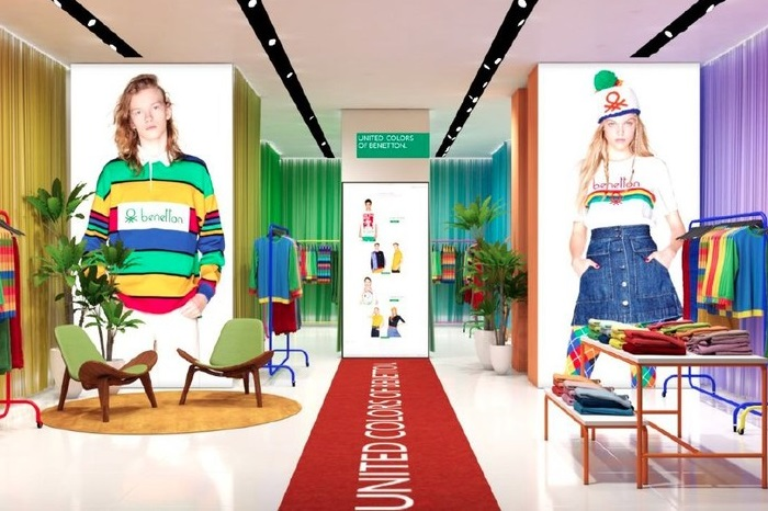 United Colors of Benetton to open US pop-up store