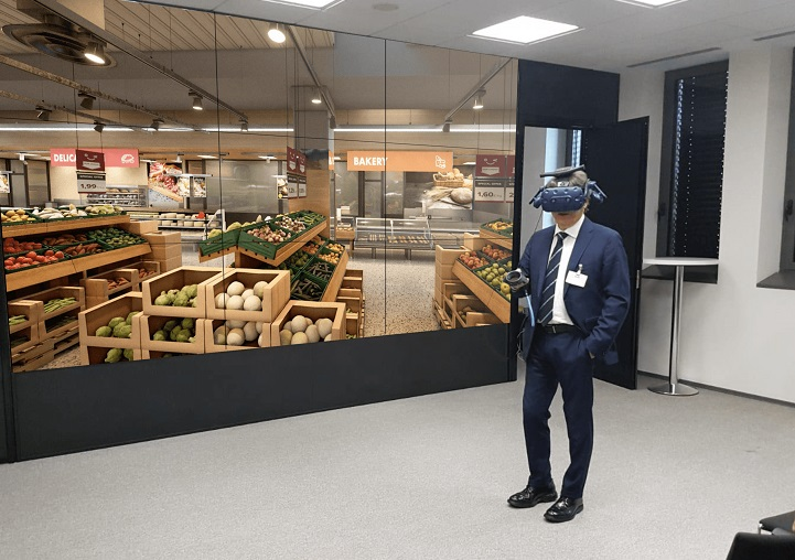 Optimizing category management and trade marketing with Virtual Reality