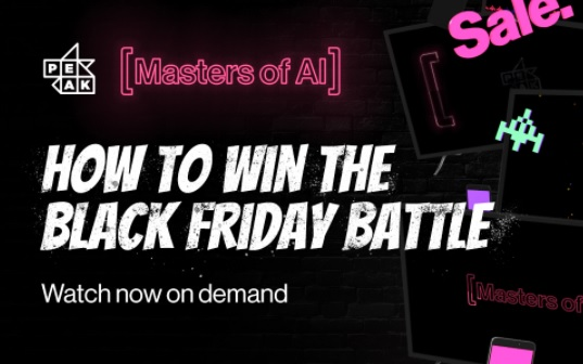 On Demand: Masters of AI | How to win the Black Friday Battle