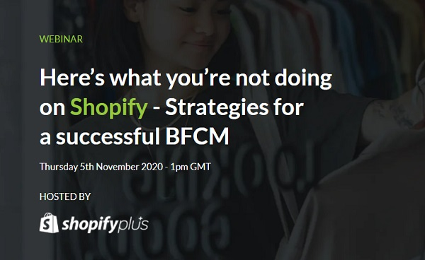 Webinar: Have you nailed down your strategy for Black Friday Cyber Monday?