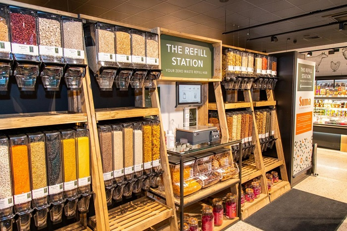 Central England Co-op extends refill station trial to include non-food products