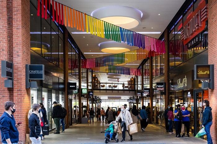 Tommy Hilfiger triples size of store at London Designer Outlet
