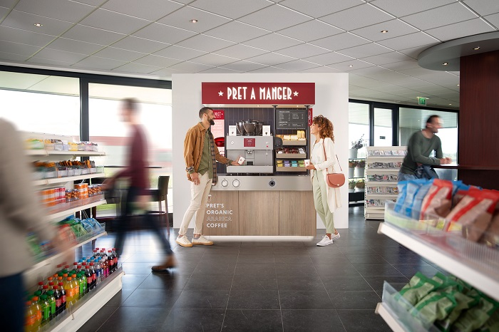 Pret A Manger to expand into self service coffee market
