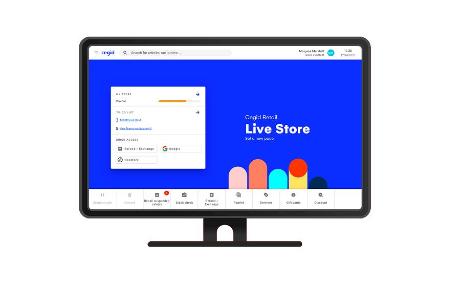 Cegid launches Cegid Retail Live Store